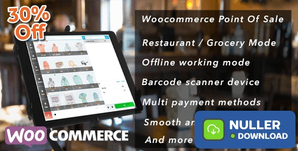 Openpos v4.4.2 - WooCommerce Point Of Sale (POS)