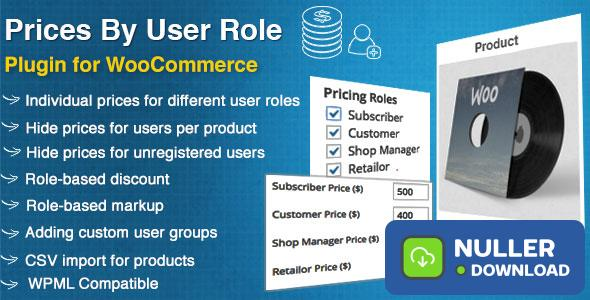 WooCommerce Prices By User Role v4.5