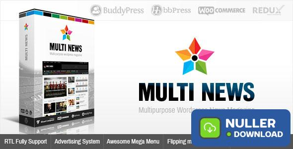 Multinews v2.6.10 - Multi-purpose Wordpress News, Magazine