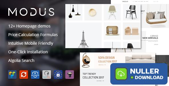 Modus v1.6.0 - Modern Furniture WooCommerce Theme