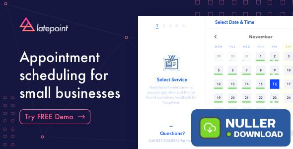 LatePoint v2.2.0 - Appointment Booking & Reservation plugin
