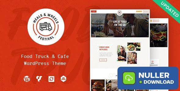 Meals & Wheels v1.0.1 - Street Festival & Fast Food Delivery WordPress Theme