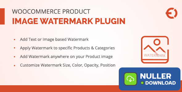 WooCommerce Product Image Watermark Plugin v1.0.7