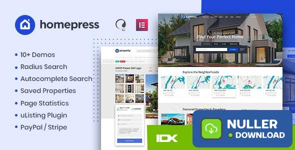 HomePress v1.2.3 - Real Estate WordPress Theme