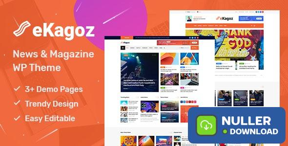 eKagoz v1.0 - News Magazine WordPress Theme