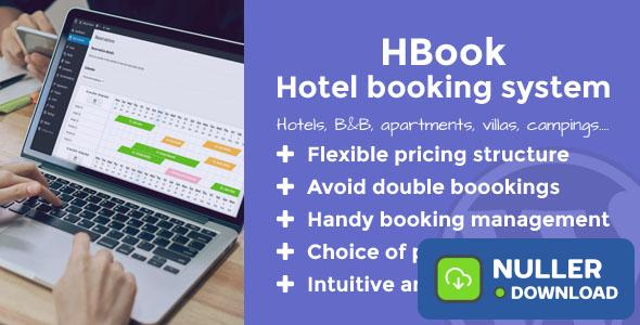 HBook v1.9.3 - Hotel booking system - WordPress Plugin