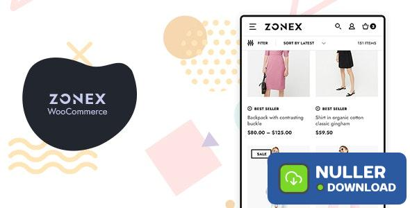 Zonex v1.0.2 - Fashion WooCommerce WordPress Theme