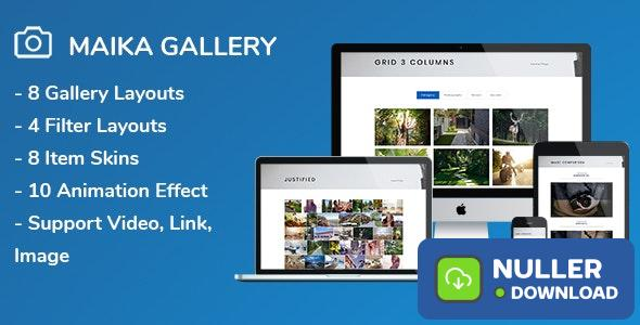 Maika v1.16 - Gallery Plugin for Wordpress