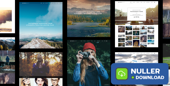 Photography v6.7.2 - Responsive Photography Theme