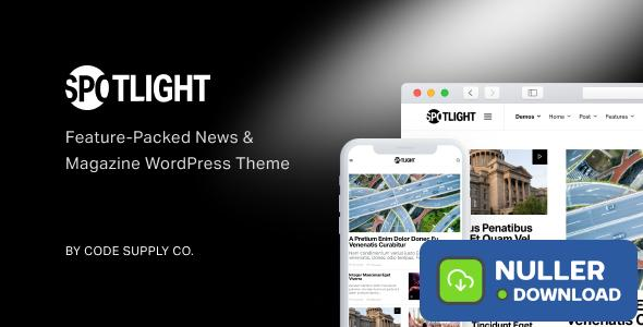 Spotlight v1.6.3 - Feature-Packed News & Magazine Theme