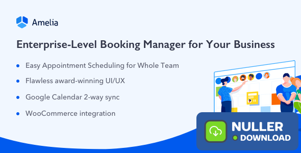 Amelia v2.4 - Enterprise-Level Appointment Booking
