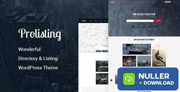 Prolisting v1.28 - Directory Listing WordPress Theme