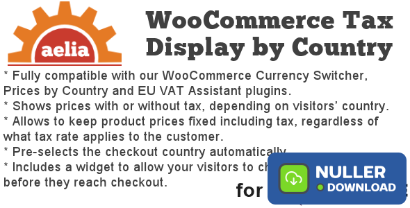 Tax Display by Country for WooCommerce v1.12.1.191220
