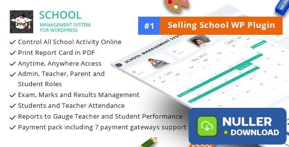School Management System for Wordpress v66.0