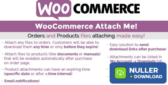 WooCommerce Attach Me! v1.81