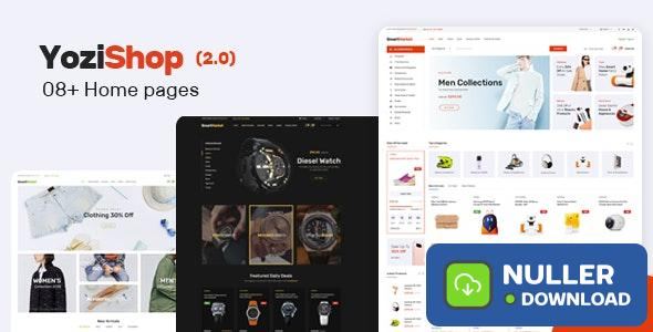 Yozi v2.0.30 - Multipurpose Electronics WooCommerce Theme