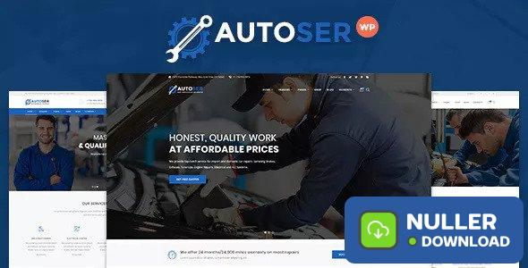 Autoser v1.0.9 - Car Repair and Auto Service Theme