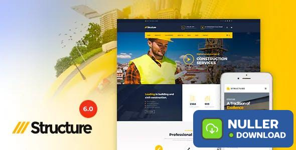 Structure v6.9.2 - Construction WordPress Theme