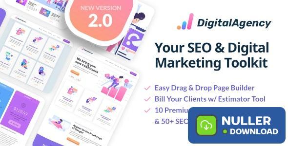 SEO WP v2.2 - Online Marketing, SEO, Social Media Agency