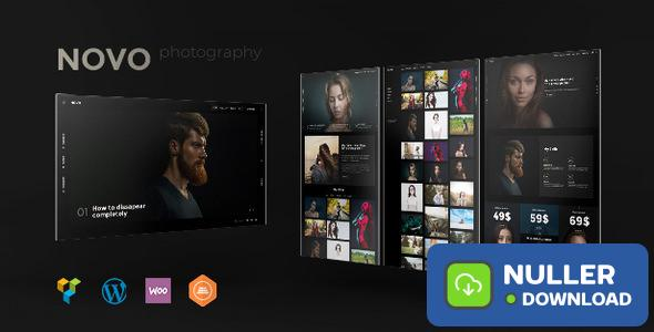 Novo v3.1.2 - Photography WordPress Theme