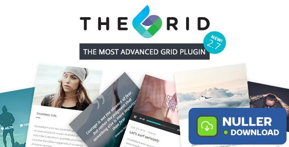The Grid v2.7.7 - Responsive Wordpress Grid Plugin