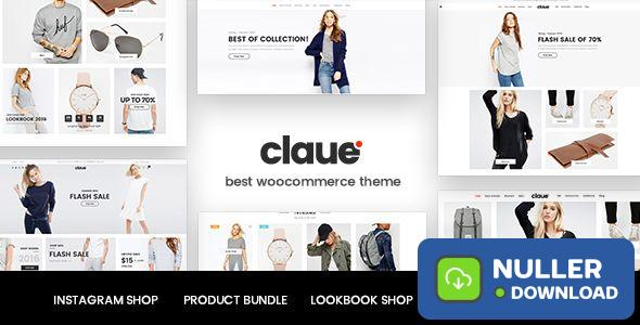 Claue v2.0.5 - Clean, Minimal WooCommerce Theme
