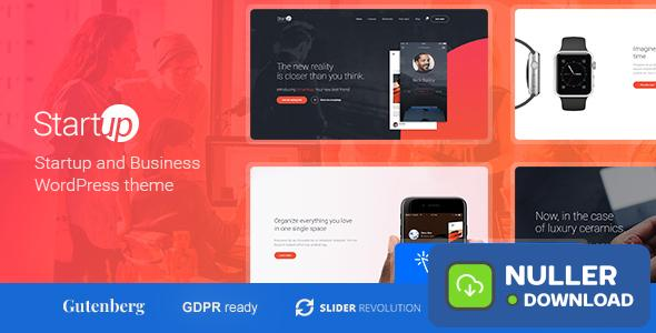 Startup Company v1.1.0 - Theme for Business & Technology