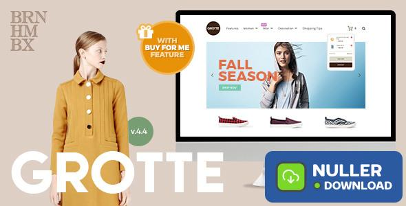 Grotte v7.1 - A Dedicated WooCommerce Theme