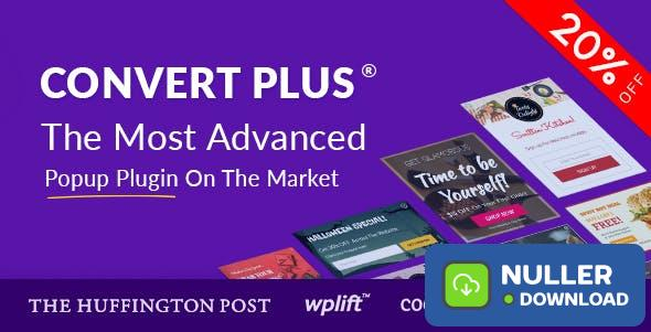 ConvertPlus v3.5.10 - Popup Plugin For WordPress