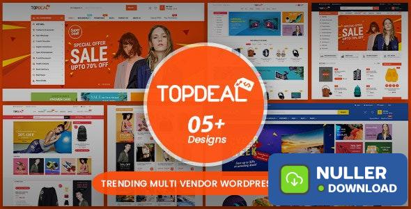 TopDeal v1.7.5 - Multipurpose Marketplace WordPress Theme