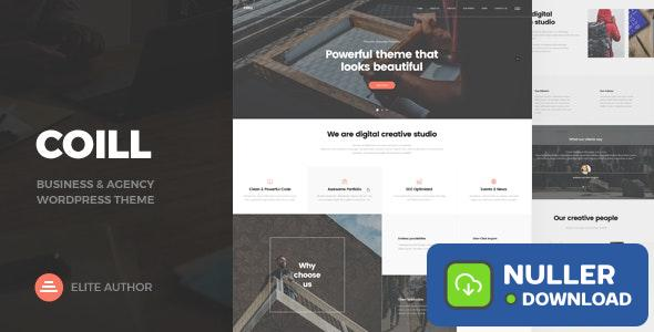 Coill v1.0 - Business & Agency WordPress Theme