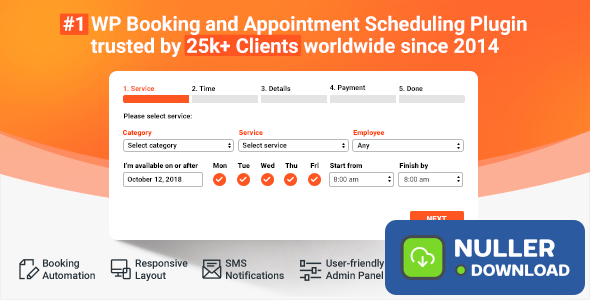 Bookly Booking Plugin v17.7 + Addons Pack