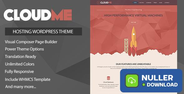 Cloudme Host v1.1.3 - WordPress Hosting Theme + WHMCS