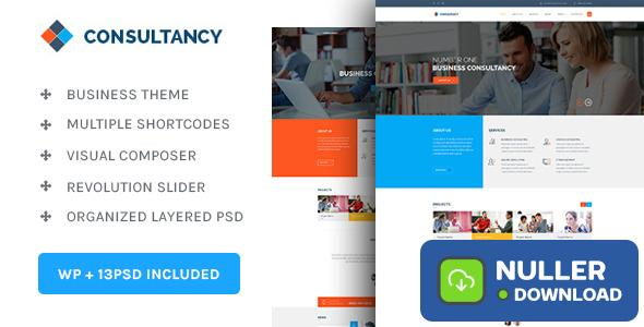 Consultancy v1.3.7 - WP Consultancy & Business Theme