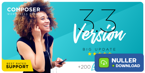 Composer v3.4.1 - Responsive Multi-Purpose Theme