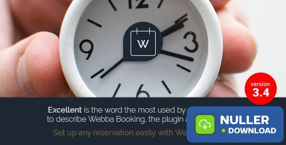 Webba Booking v3.8.27 - WordPress Appointment & Reservation plugin