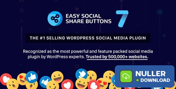 Easy Social Share Buttons for WordPress v7.0
