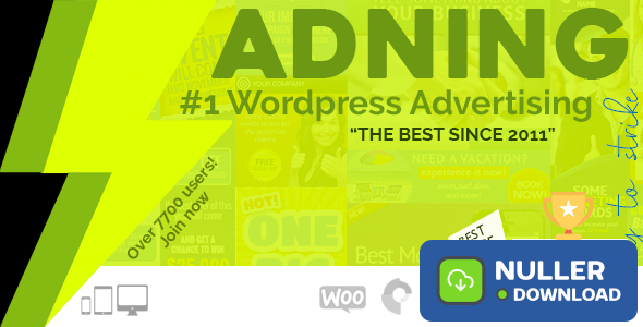 Adning Advertising v1.5.8 - All In One Ad Manager