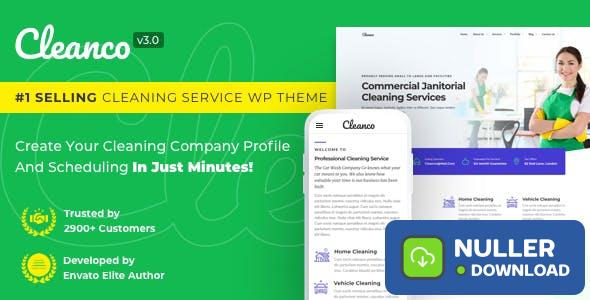 Cleanco v3.2.0 - Cleaning Company Wordpress Theme