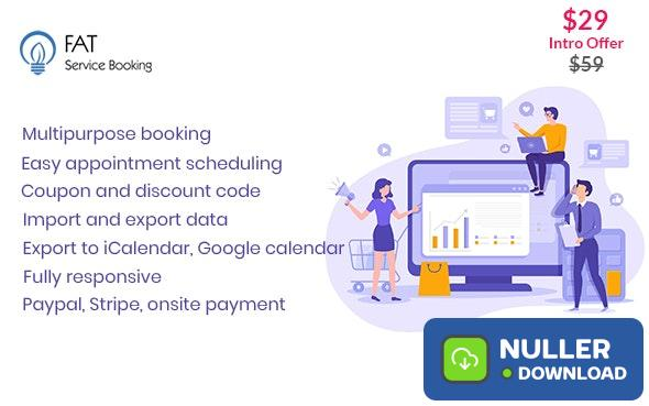Fat Services Booking v2.4 - Automated Booking and Online Scheduling
