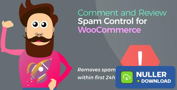 Comment and Review Spam Control for WooCommerce v1.1.7