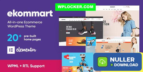 ekommart v1.9.0 - All-in-one eCommerce WordPress Theme