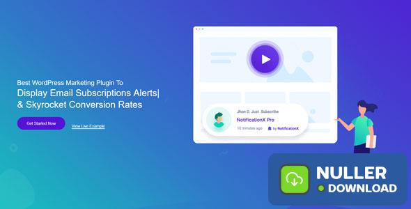 NotificationX v1.4.10 - Best WordPress Marketing Plugin