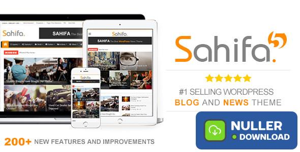 Sahifa v5.7.2 - Responsive WordPress News, Magazine