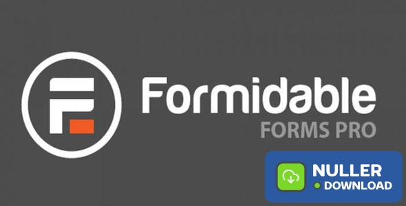 Formidable Forms Pro v4.04.05 + Add-Ons