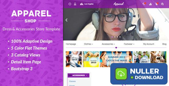 Apparel v1.4.0 - Clothes and Accessories WooComerce Theme