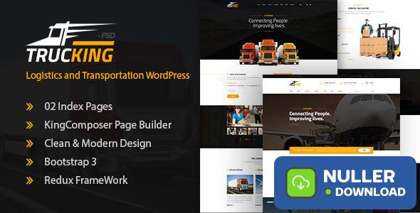 Trucking v1.17 - Logistics and Transportation Theme