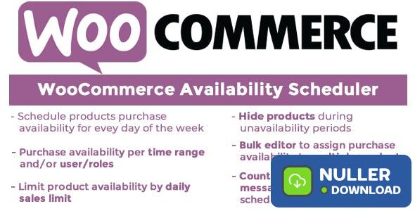 WooCommerce Availability Scheduler v10.7