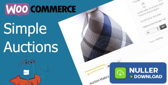 WooCommerce Simple Auctions v1.2.37 - Wordpress Auctions