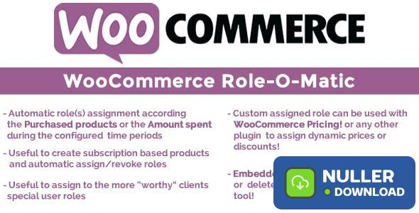 WooCommerce Role-O-Matic v8.0
